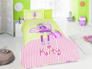 lenjerii de pat copii ieftine hello kitty