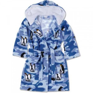 Halate de baie copii pufoase ieftine pinguin