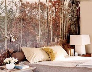 tapet decorativ cu peisaje ieftin