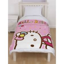 patura fleece copii hello kitty