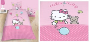 lenjerii de pat hello kitty ieftine