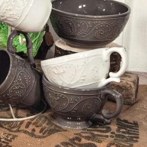 Boluri ceramica termorezistenta cu model