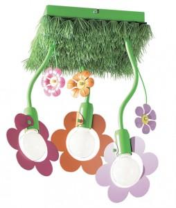 Lustre copii ieftine in forma de floare