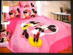 Reduceri lenjerii pat copii mickey mouse