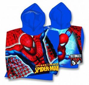 Prosop baie cu Spiderman cu gluga