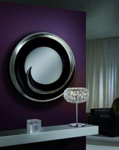 Oglinzi rotunde decorative cu rama