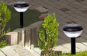 Lampi solare gradina ieftine albe sau colorate