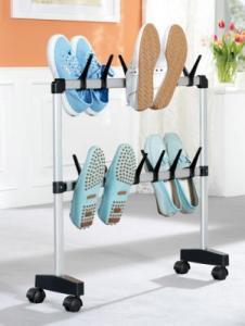 Organizator pantofi vertical din fier forjat