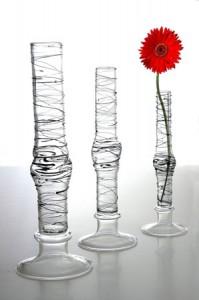Vaze decorative din sticla ieftine
