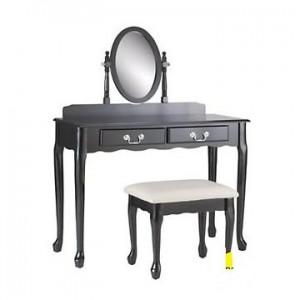 Masute de toaleta cu oglinda din lemn masiv