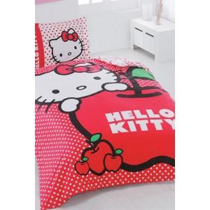 Lenjerii pat copii Hello Kitty ieftine