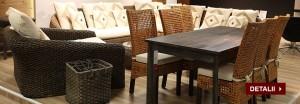 Reduceri Black Friday Mobexpert mobilier din rachita