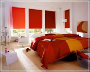 Rolete textile interioare ieftine colorate