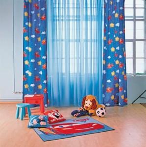 Draperii camera copii cu fluturi