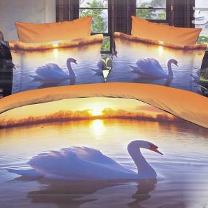 Cuverturi de pat 3D matlasate cu fete de perna decorative