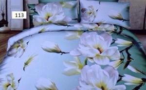 Lenjerii de pat 3D deosebite cu flori