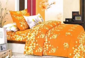 Lenjerii de pat pentru vara cu flori