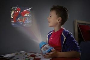 Veioze copii cu proiectie spiderman