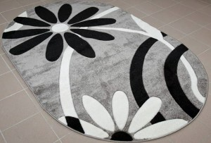 Covoare ieftine ovale cu flori