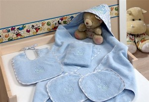 Prosoape baie copii cu gluga tac